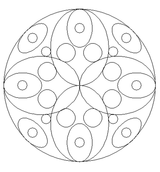 Printable Mandala Coloring Pages for Primary School