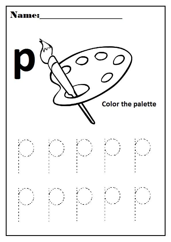 P Worksheets Preschool. P. Best Free Printable Worksheets