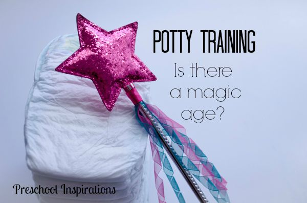Is There A Magic Potty Training Age by  Preschool Inspirations