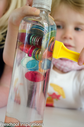 Magnetic Discovery Bottles ~ Preschool Inspirations-8