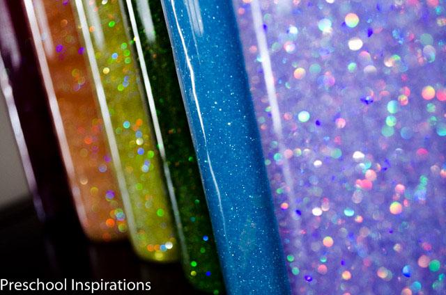 6 Ways to Make a Calm Down Jar by Preschool Inspirations