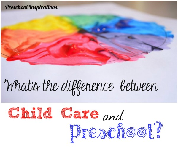 What's the Difference Between Child Care and Preschool