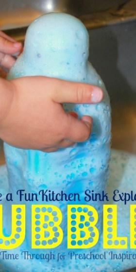 Kitchen Sink Bubble Explosion
