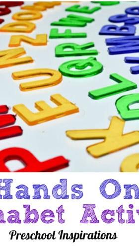 6 Hands On Alphabet Activities
