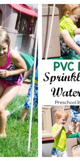 DIY PVC Pipe Sprinkler and Waterslide