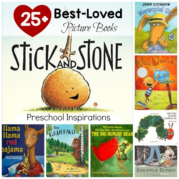 Need the perfect read aloud book? Here are 25+ of the best-loved and most popular children's books. They are perfect picture books for preschoolers, kindergartners, and all ages! If you need the perfect circle time book, you will find it in here!