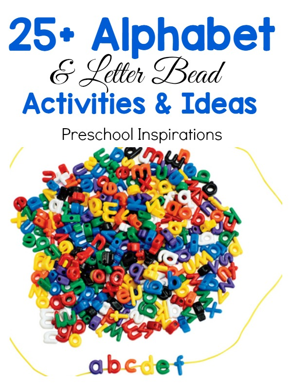 Find 25+ perfect alphabet activities for preschool or kindergarten. These hands-on activities are perfect for learning and exploring the alphabet and literacy.