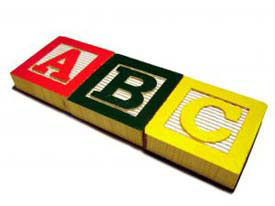 Learn abcs with our Preschool Genius learning pack.