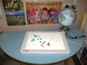 Light Table Activities for Toddlers Science