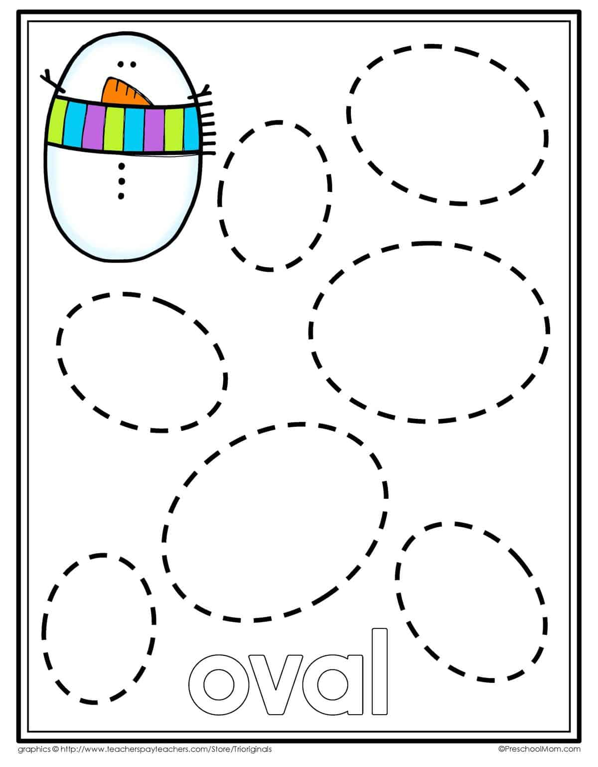 Snowman Counting Worksheet For Preschoolers