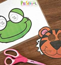 FREE Printable Animal Masks Templates [ 2948 x 4178 Pixel ]