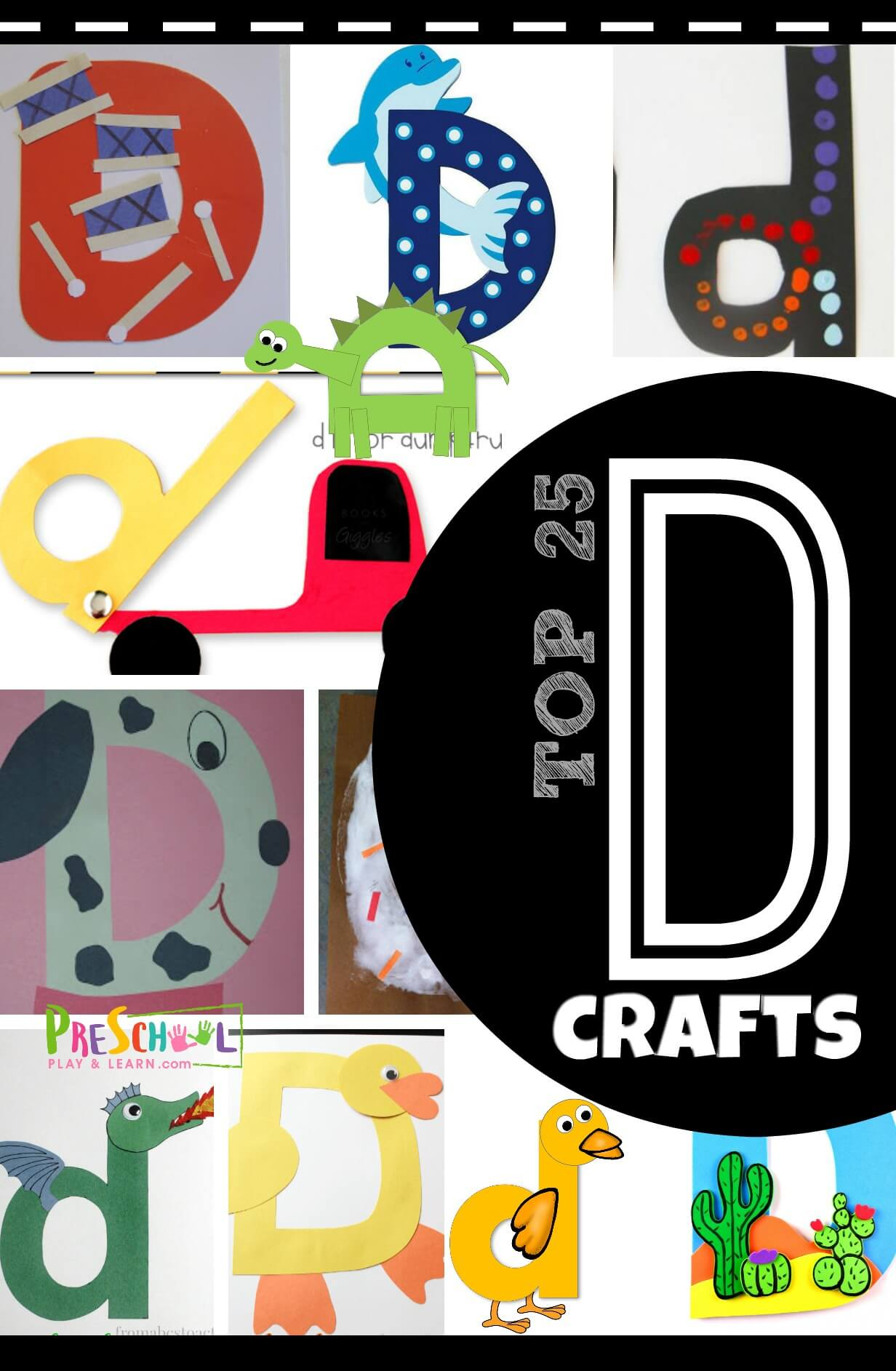 Top 25 Letter D Crafts