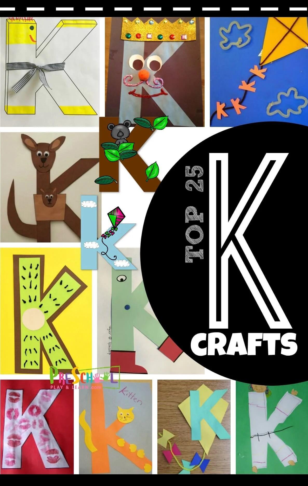 Top 25 Letter K Crafts