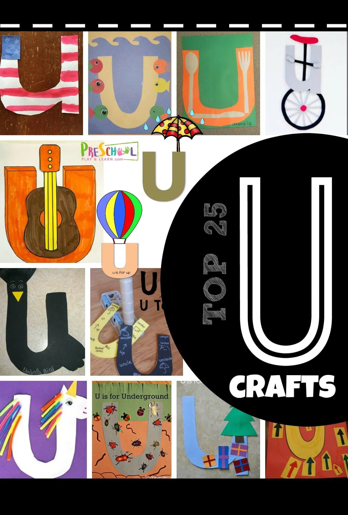 Top 25 Letter U Crafts
