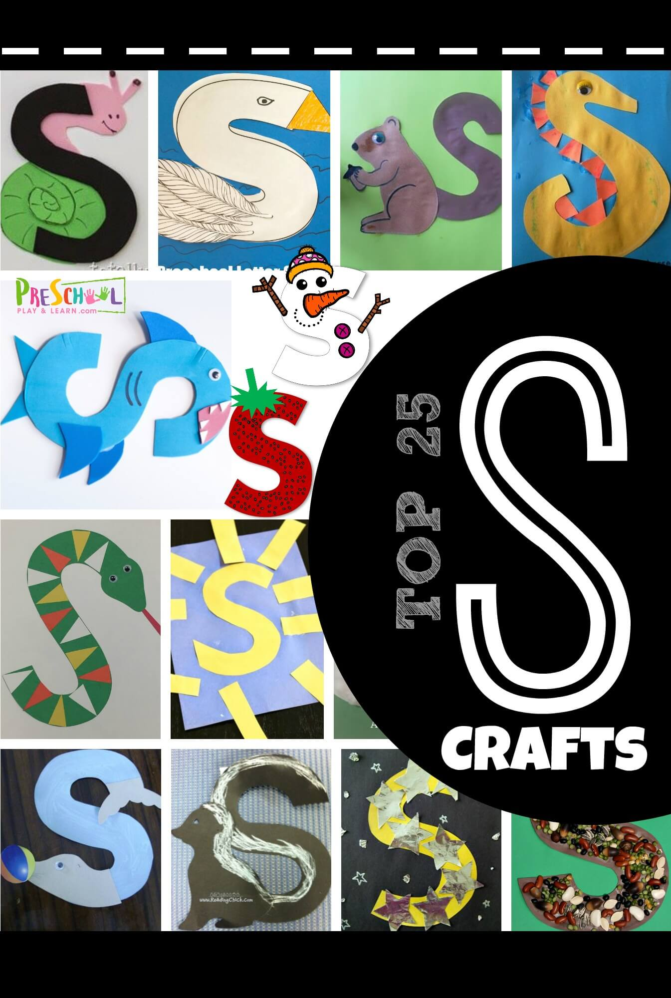 Top 25 Letter S Crafts