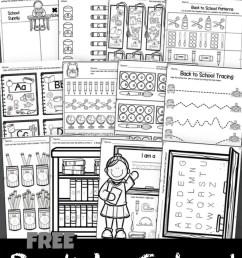 FREE Back to School Worksheets [ 1834 x 1045 Pixel ]