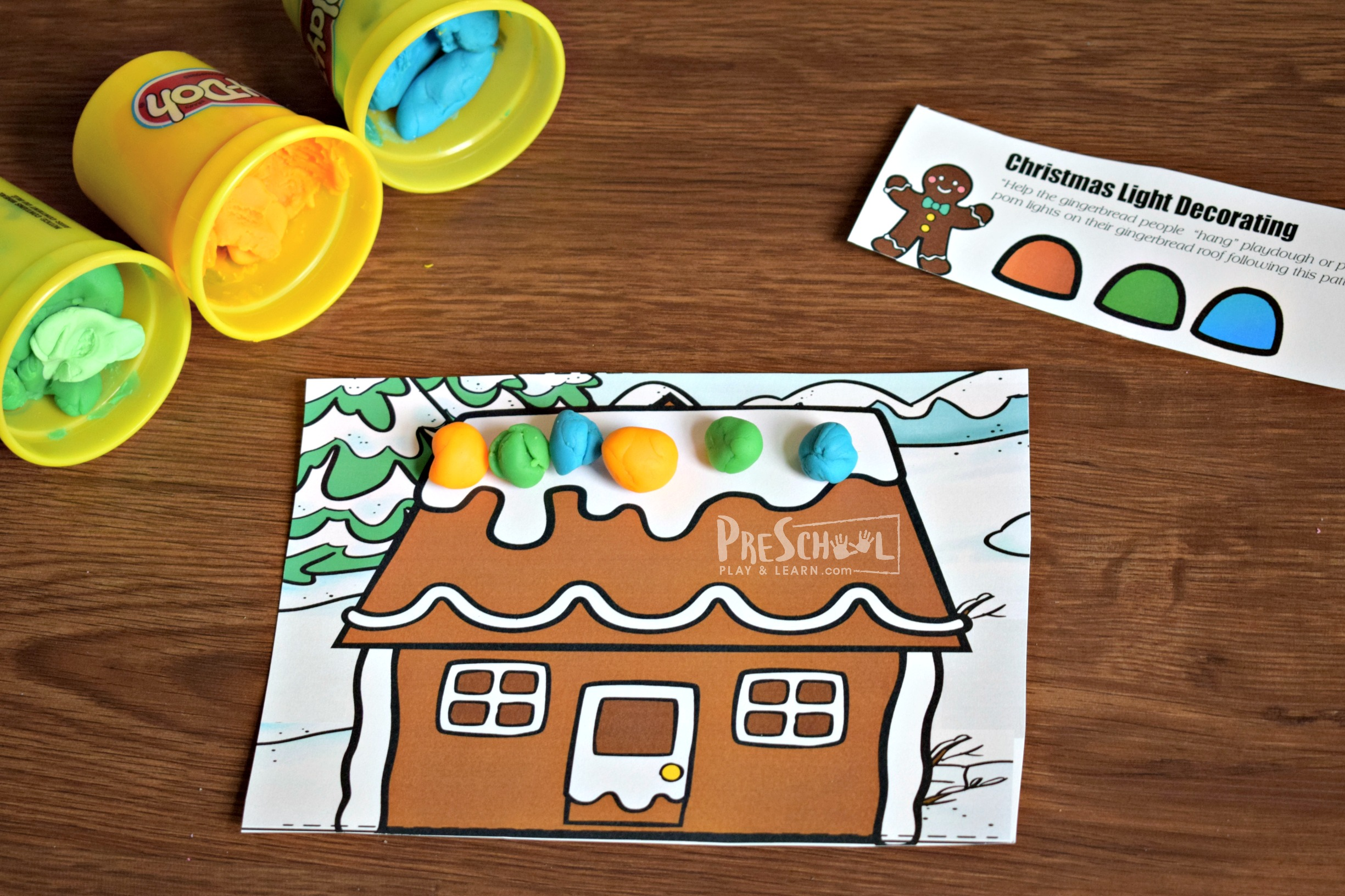 Free Christmas Patterns For Preschoolers