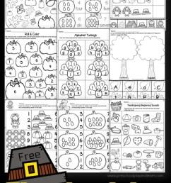 Thanksgiving Worksheets for Preschoolers [ 1764 x 1089 Pixel ]