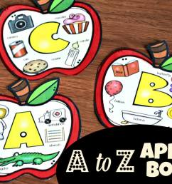 A is for Apple Printable Book (beginning sounds) [ 1165 x 1632 Pixel ]