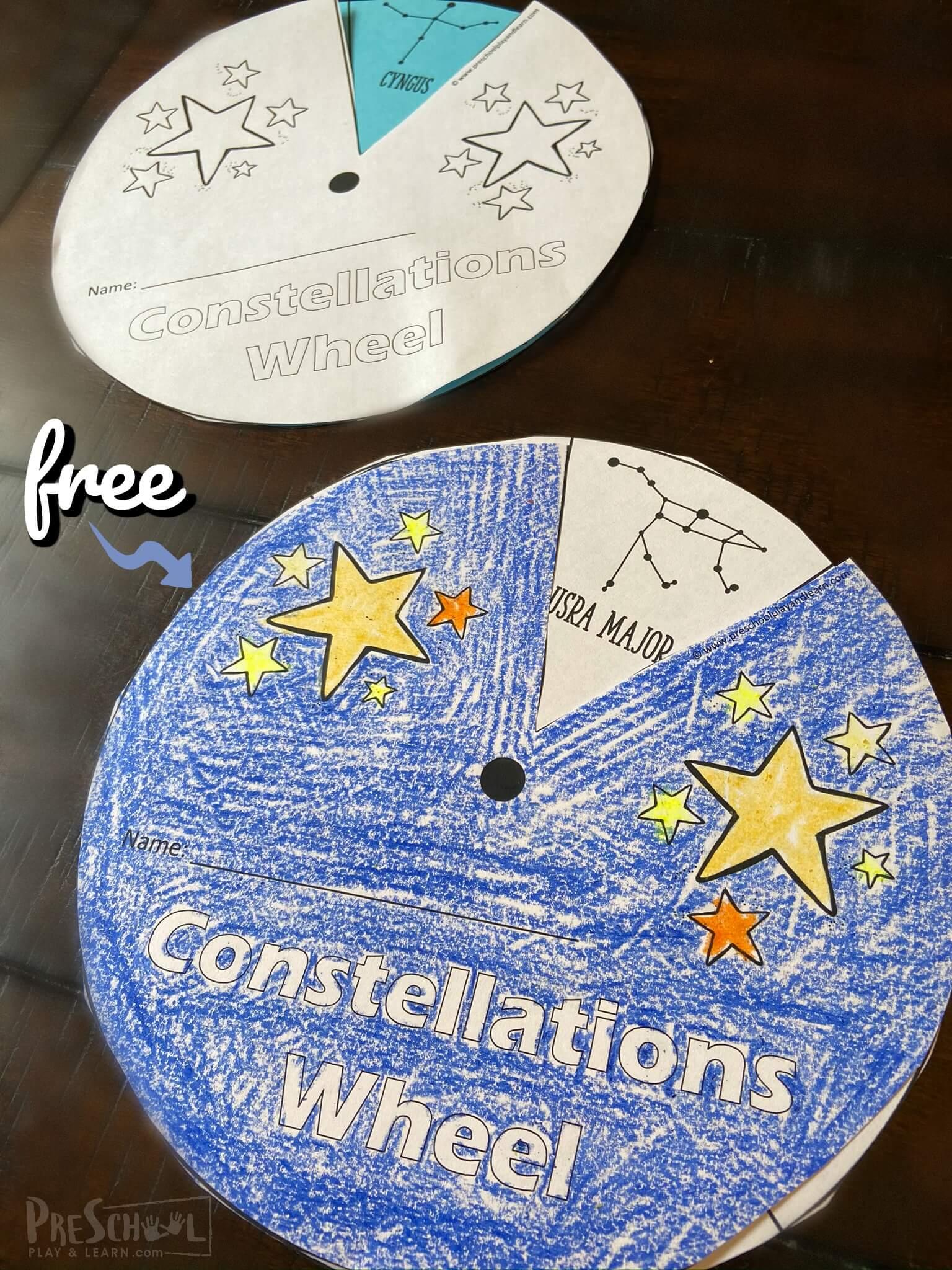 hight resolution of FREE Free Constellations Wheel Printables