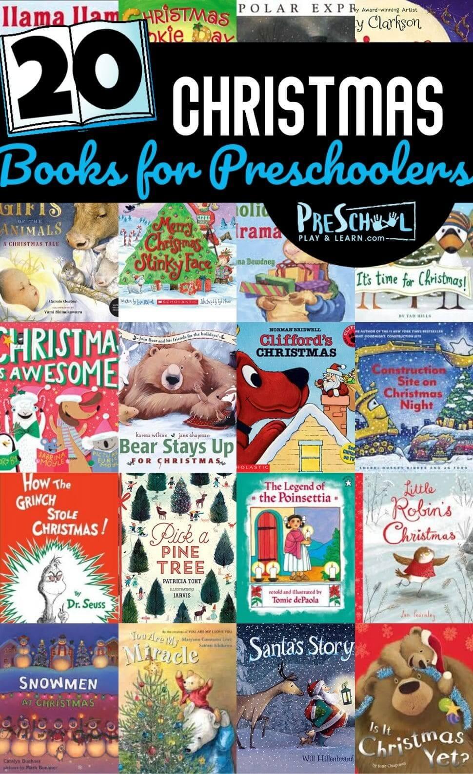 medium resolution of Christmas Books for Preschoolers