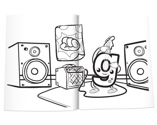 Preschool Prep Meet The Phonics Digraphs Sketch Coloring Page