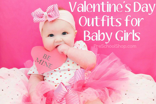 Adorable Valentines Day Outfits For Baby Girls