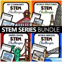 STEM Challenges BUNDLE - Preschool Teacher 101