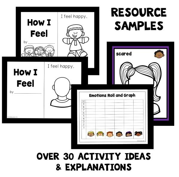 Emotions Theme Preschool Classroom Lesson Plans