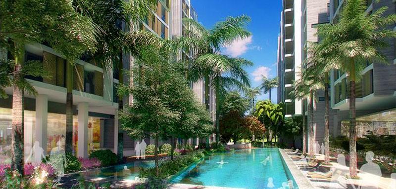 Arbor Lanes Pool Area