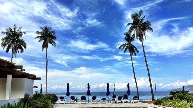 Playa Laiya Batangas Beach lots for sale view