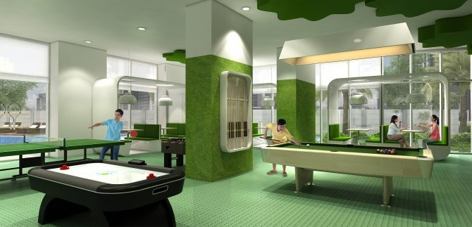 Trion Tower Children's Playroom