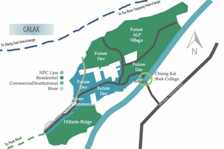 Hillside Ridge Location and Vicinity