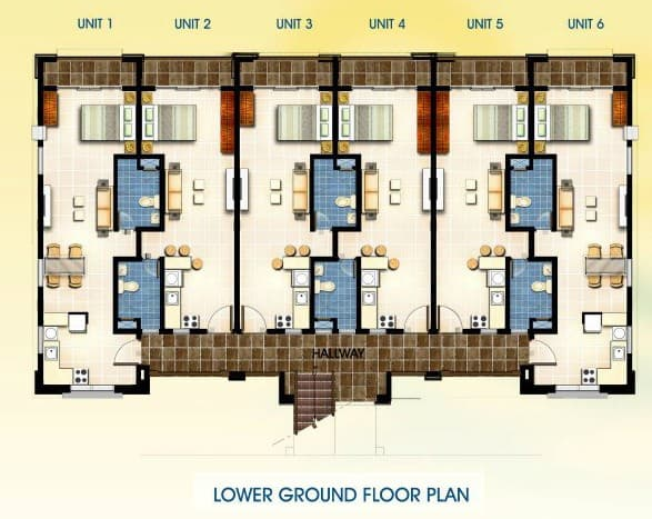 studio unit floor plan