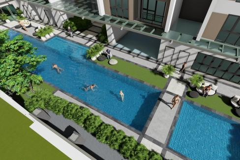 Mergent Residences Alveo Pool