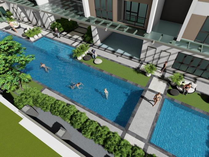 Mergent Residences Alveo Pool