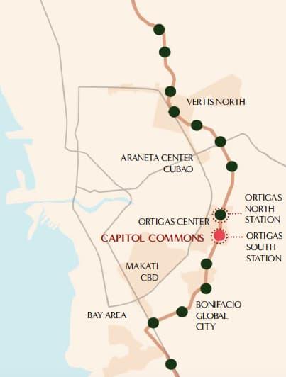 Metro Manila Subway Access to Capitol Commons