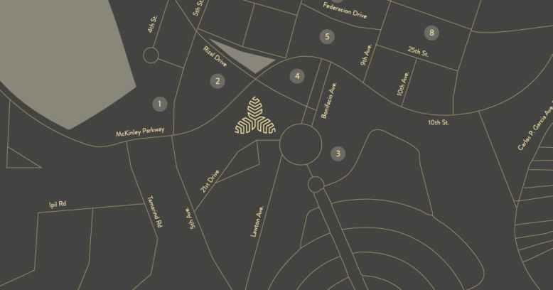Aurelia Residences BGC Location and Vicinity
