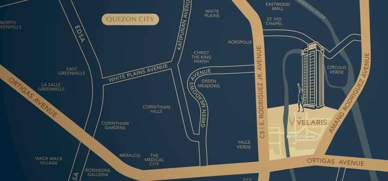 Velaris Residences Location and Vicinity