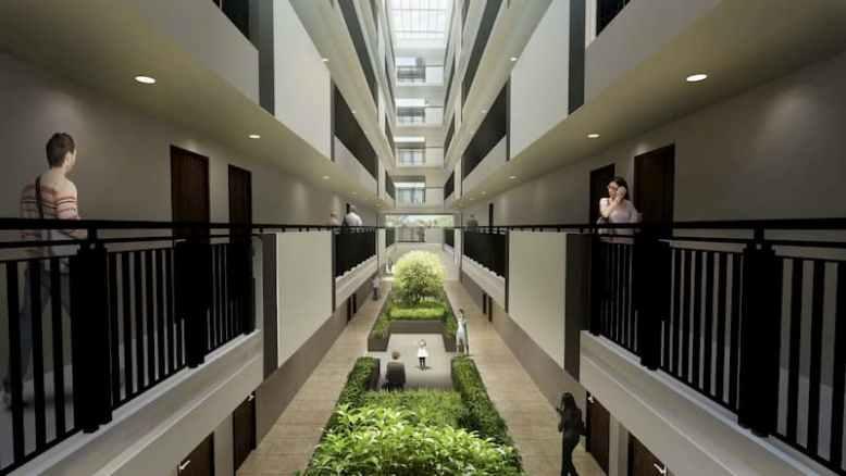 Two Antonio Hallway