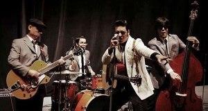 El Rey del Rock & Roll, Elvis será intersonado por Luis Enrique. (Foto/Suministrada)