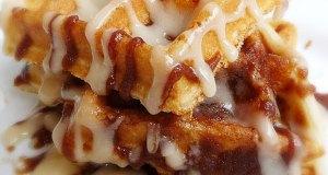 Waffles de canela. (Foto/Suministrada)