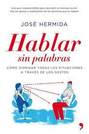"""Portada del libro """"Hablar sin palabras"""" de José Hermida"""