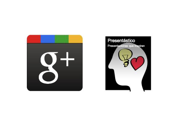 Presentástico en Google+