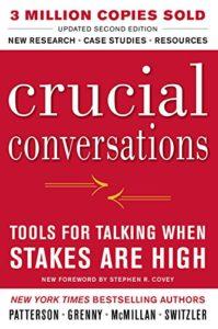"Portada del libro ""Crucial conversations"""