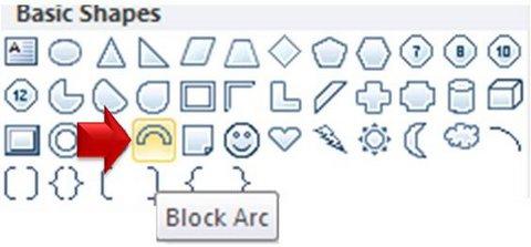 Block Arc Menu