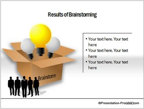 Brainstorming PowerPoint Charts CEO Pack