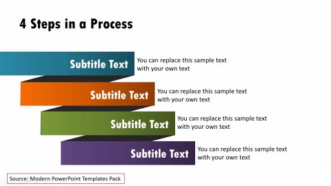 Business Process Slide from Modern Templates Pack
