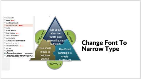 How to fit a large amount of text into your PowerPoint Template