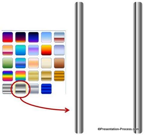 Chrome Fill Gradient for ladder